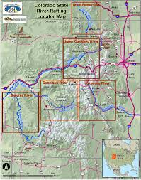 Canyon City Colorado Map by Colorado State River Locater Map