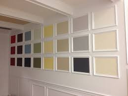 coffered ceiling crown molding u0026 color wall this was desi u2026 flickr