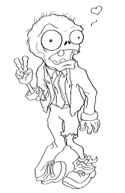 print zombie coloring toyolaenergy lineart