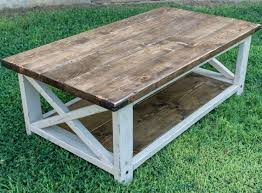 best 25 farm house coffee table diy ideas on pinterest