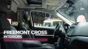 fiat freemont interior fiat freemont cross interiors youtube