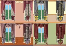 Victorian Curtains Mod The Sims Victorian Curtains 2 New Meshes And 7 Recolours
