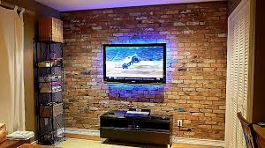 Exposed Brick Wall by How To Build An Exposed Brick Veneer On An Interior Wall Youtube