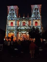 san fernando cathedral light show the light show at the san fernando cathedral san antonio 2018