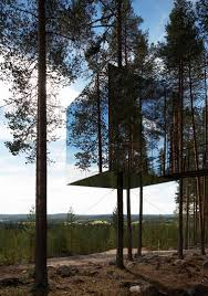 tree hotel sweden tree hotel tham videgård arkitekter archdaily