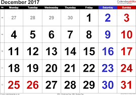 december 2017 calendar with holidays uk calendar template excel
