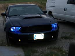 Led Blue Light Bar by Blue Led Light On Kona Blue Ford Mustang Forum