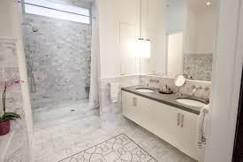 amazing bathroom white marble subway tile ceramic wood tile
