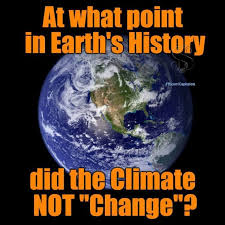 Climate Change Meme - liberal climate change lunacy debunked by one meme