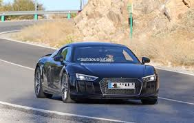 audi supercar spyshots 2019 audi r8 gt flaunts two huge oval exhaust pipes