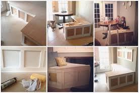 diy banquette storage bench diy banquette storage bench great diy