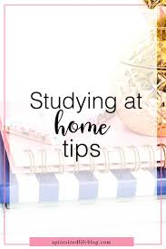 studying at home tips a pint sized life