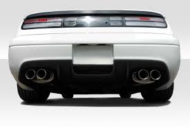 nissan 300zx 90 96 fits nissan 300zx tz duraflex rear bumper lip body kit