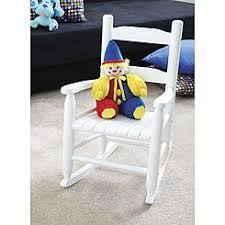 White Childs Rocking Chair Childs Jenny Lind Rocking Chair Color White