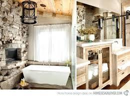 Rustic Bathroom Designs Rustic Modern Bathroomgorgeous Rustic Modern Sink In Bathroom