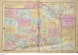 Map Of Toronto Canada by Goad U0027s Atlas Of The City Of Toronto Fire Insurance Maps From The