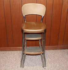 Step Stool Chair Combination Vintage Stylaire Combination Chair And Step Stool Ebth