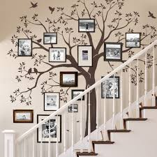 staircase family tree wall decal home decor pinterest tree staircase family tree wall decal