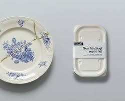 kintsugi repair kit how to fix broken ceramics the cool way