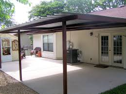 wood car porch attached lean to patio cover north west san antonio carport