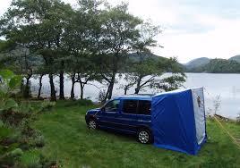 Van Rear Door Awning Amdro Boot Tent Tailgate Awning Amdro Alternative Campervans