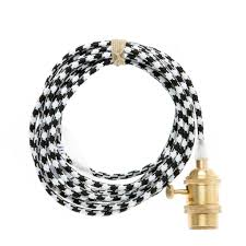 color cord company brass in light cord black and white
