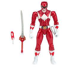 power ranger legacy 16 5cm metallic red ranger power rangers uk