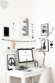 Black White Desk by 24 Playful Modern Offices For Workaholics At Home Designrulz