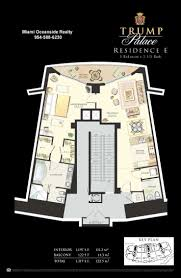Palace Floor Plans Trump Palace Sunny Isles Beach Condos For Sale For Rent Mls Floor