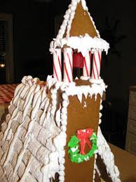 gingerbread church house