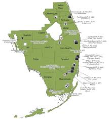 Palm Beach State Map Florida Prison Facilities Region 4 Map