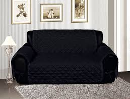 Black Sofa Slipcover Amazing Pet Sofa Cover And Black Quilted Micro Suede Pet Dog Sofa