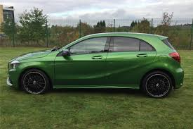 green mercedes a class used 2017 mercedes benz a class a200 amg line 5dr auto for sale in