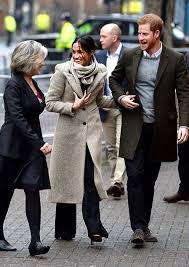 meghan harry prince harry and meghan markle s second joint engagement in