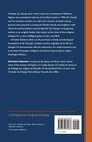christian de cherge a theology of hope cistercian studies