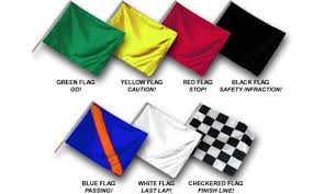 Flag Black Red Yellow Race Marshal Flags What They Mean Youtube