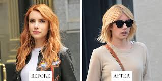 Coloring Hair While Pregnant Best Celebrity Hair Transformations 2016 Celebrity Hairstyles