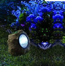 pure garden solar rock home outdoor decoration