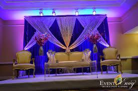 small elegant wedding stage jpg