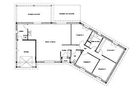 plan de maison 120m2 4 chambres plan de maison 120m2 4 chambres con plan maison plein pied 120m2 e