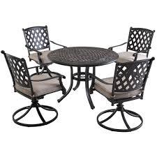 Patio Furniture Sets Bjs - sunjoy bar harbor 5 pc outdoor dining set bj u0027s wholesale club