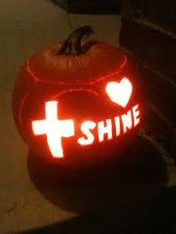 Religious Halloween Crafts - the light of christ pumpkins and plenty of sugar pumpkin