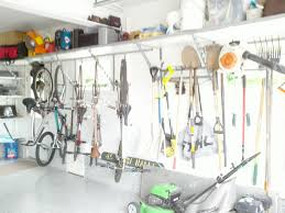 Cool Garage Ideas Interior Cool Garage Shelving Ideas With Grey Concrete Floor And