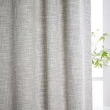Gray And White Blackout Curtains Blackout Drapes West Elm
