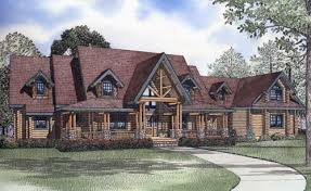 2 Story Log Cabin Floor Plans Log Cabin Style House Plans Plan 12 828