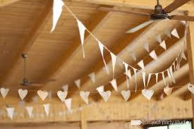 guirlande fanion mariage tutoriel pour créer une guirlande de fanions