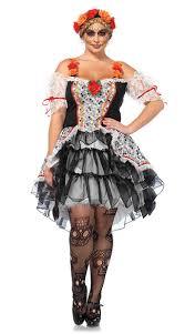 Size Burlesque Halloween Costumes Size Sugar Skull Senorita Costume Size Dead