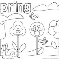 coloring spring kids drawing coloring pages marisa