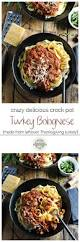 crock pot turkey recipes for thanksgiving crock pot leftover turkey bolognese the endless meal