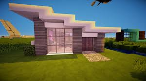 Modern House Minecraft Minecraft Modern Starter House Hd Youtube